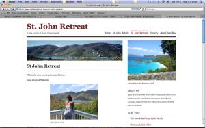 My St. John blog